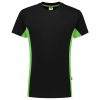 Tricorp_Shirt_Bicolor_Zwart_Groen