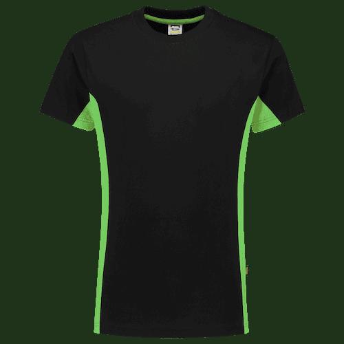 Tricorp Bicolor T-shirt - zwart/groen