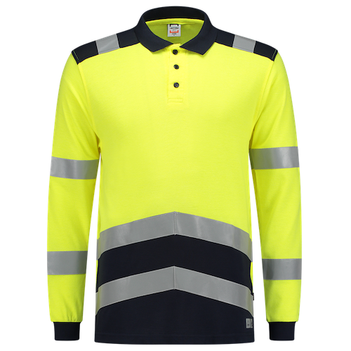 Tricorp_Poloshirt_Multinorm_Bicolor_Geel_Zwart