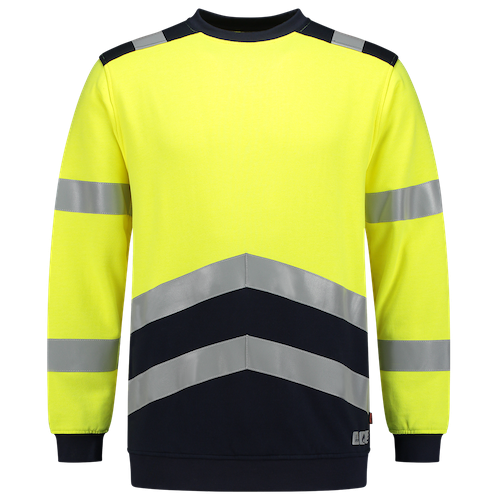 Tricorp_Sweater_Multinorm_Bicolor_Geel_Zwart