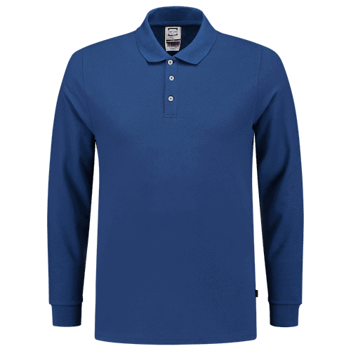 Tricorp Slim Fit polosweater - blauw