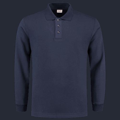 Tricorp polosweater - marineblauw