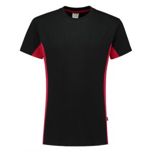 Tricorp_shirt_bicolor_zwart_rood