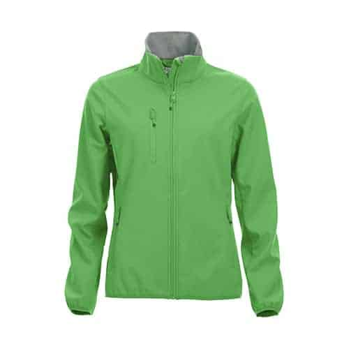 Clique Basic Dames Softshell jas - groen