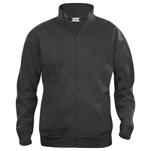 Clique Basic Cardigan vest - antraciet melange