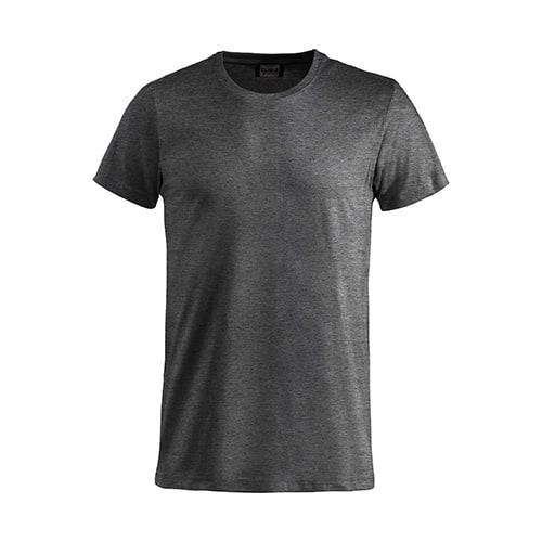 Clique Basic T-Shirt - antraciet melange