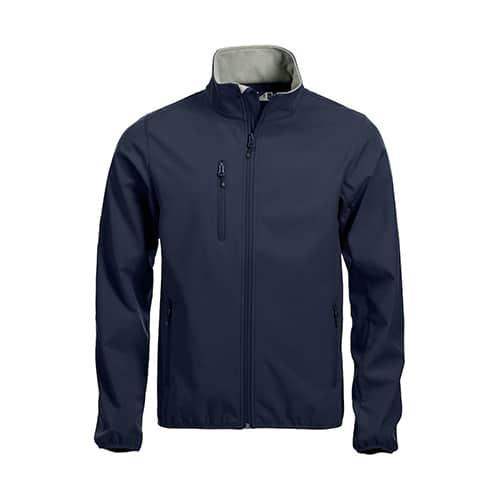 Clique Basic Softshell jas - donkerblauw
