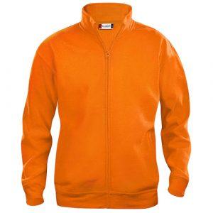 Clique_Basic_Cardigan_Vest_Oranje