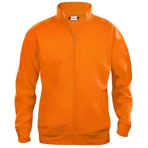 Clique Basic Cardigan vest - oranje