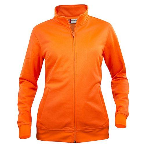 Clique_Basic_Cardigan_Vest_Dames_oranje