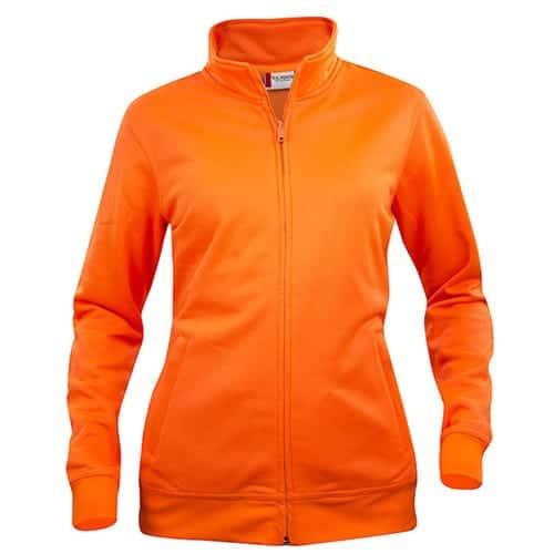 Clique Basic Cardigan Dames vest - oranje