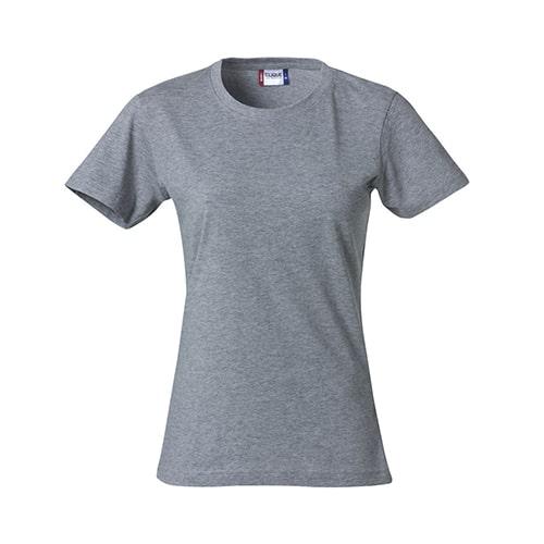 Clique Basic Dames T-Shirt - grijs