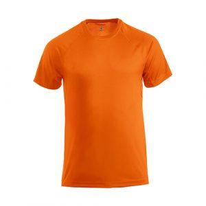 Clique_Premium_Sportshirt_Heren_Oranje