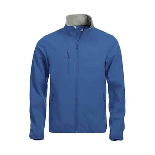 Clique Basic Softshell jas - blauw