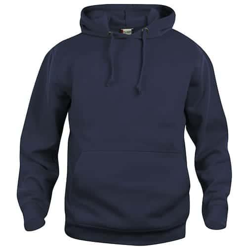 Clique Basic Hoody trui - donkerblauw