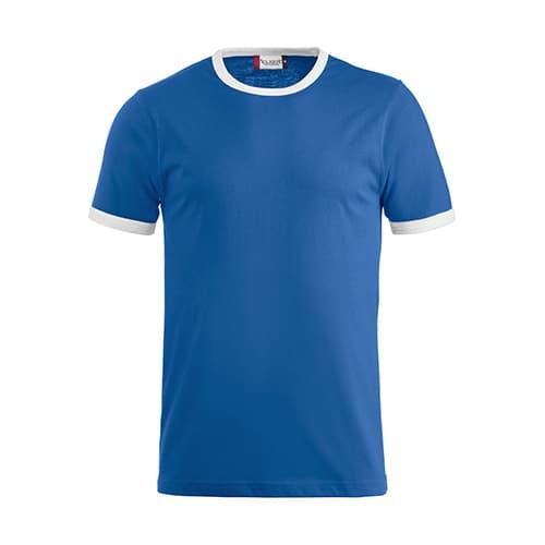 Clique Nome T-Shirt - blauw/wit