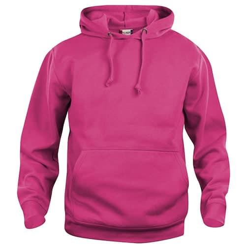 Clique Basic Hoody trui - roze