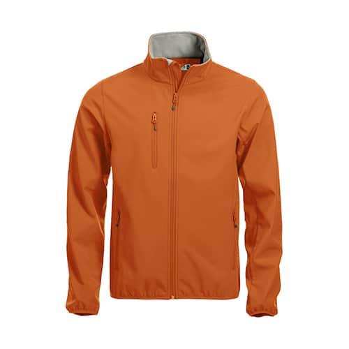 Clique Basic Softshell jas - oranje