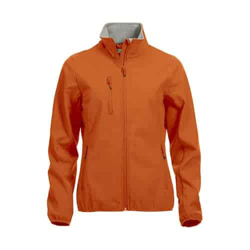 Clique Basic Dames Softshell jas - oranje