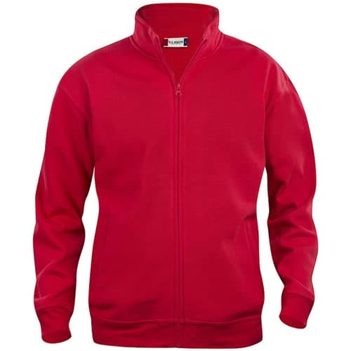 Clique Basic Cardigan vest - rood
