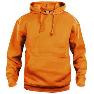 Clique_Basic_Hoody_Oranje