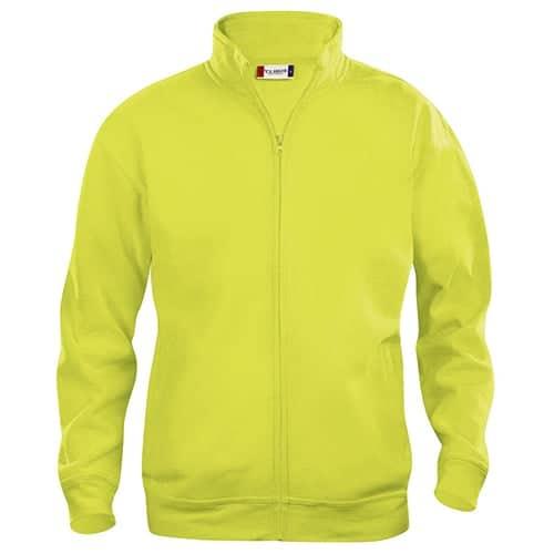 Clique Basic Cardigan vest - geel