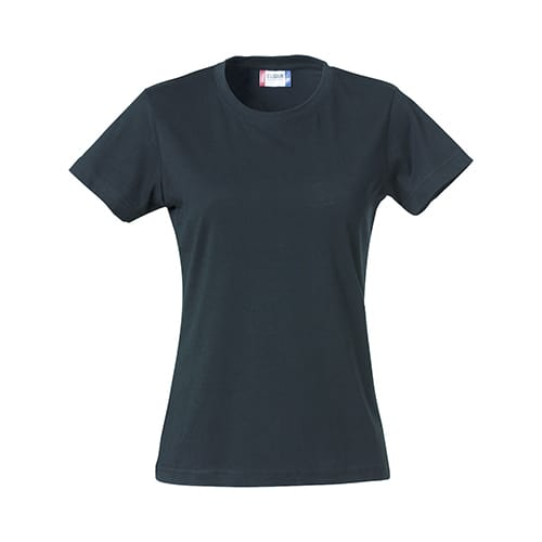 Clique Basic Dames T-Shirt - donkerblauw