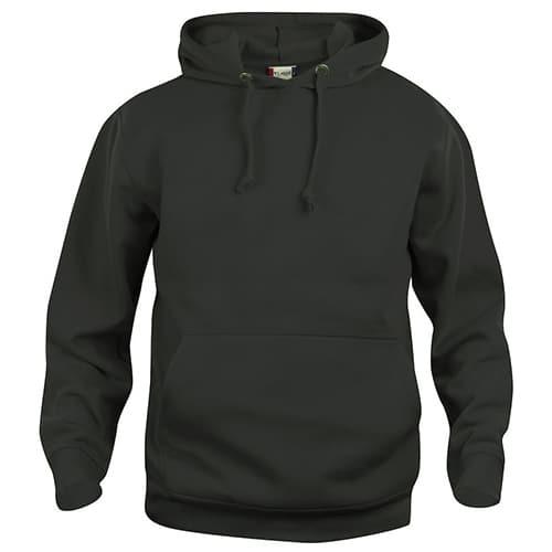 Clique Basic Hoody trui - zwart