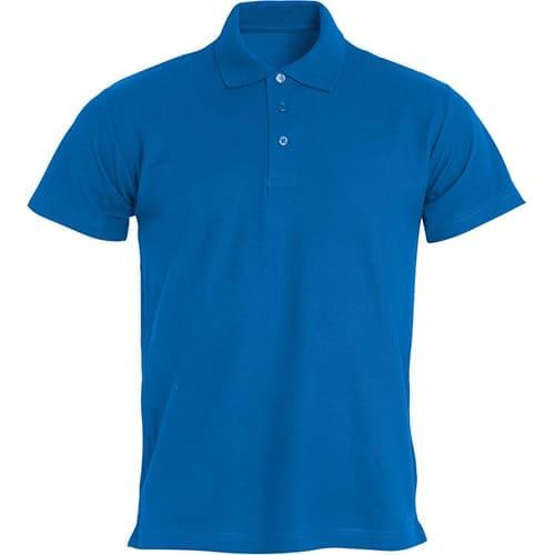 Clique Basic polo - blauw