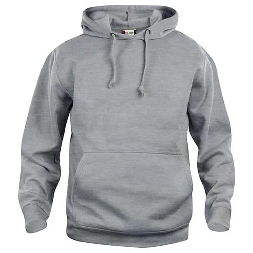 Clique Basic Hoody trui - grijs