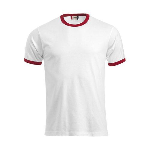 Clique_Nome_Shirt_Wit_Rood