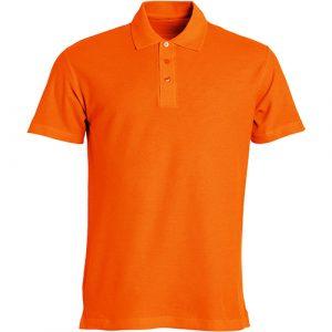 Clique_Basic_Polo_Oranje