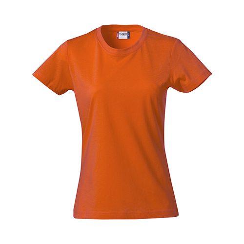 Clique_Basic_Shirt_Dames_Oranje