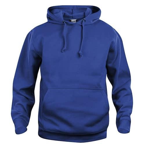 Clique Basic Hoody trui - blauw