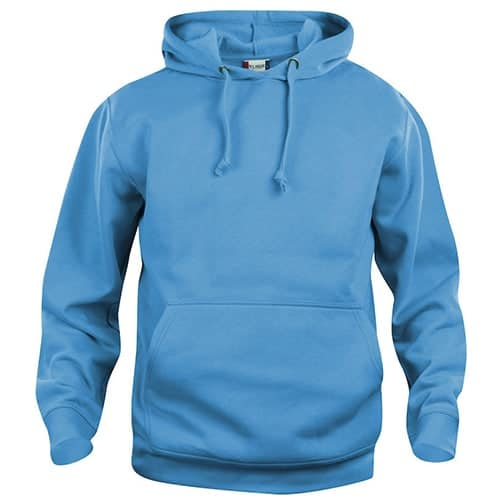 Clique Basic Hoody trui - turquoise