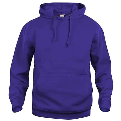 Clique Basic Hoody trui - paars