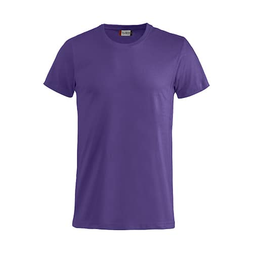 Clique Basic T-Shirt - paars