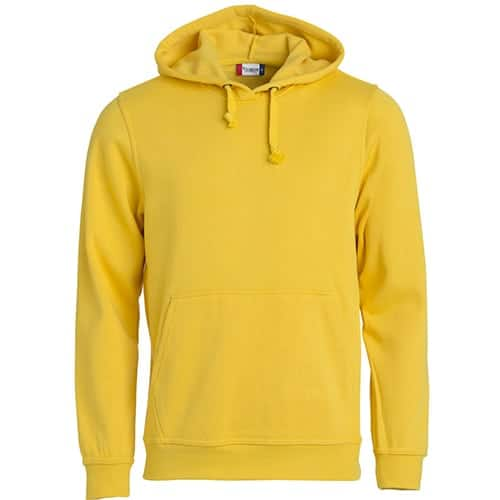 Clique Basic Hoody trui - geel