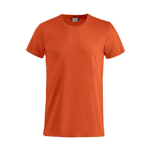 Clique_Basic_Shirt_Heren_Oranje