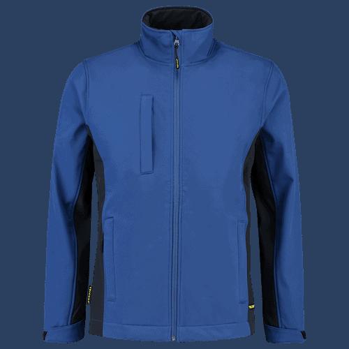Tricorp Bicolor Softshell jas - blauw/donkerblauw
