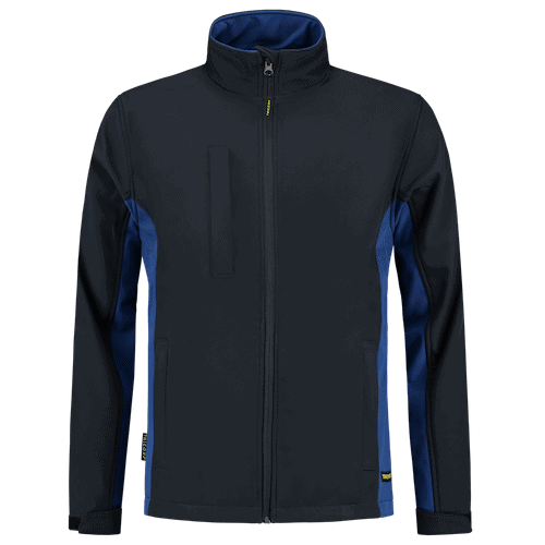 Tricorp Bicolor Softshell jas - donkerblauw/blauw