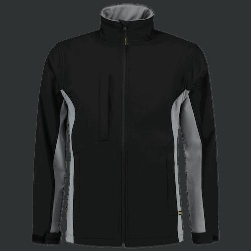 Tricorp Bicolor Softshell jas - zwart/grijs