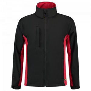 Tricorp_Bicolor_Softshell_Jas_Zwart_Rood