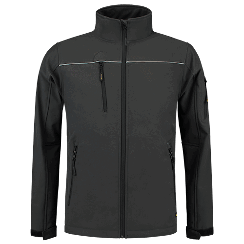 Tricorp Luxe Softshell jas - grijs