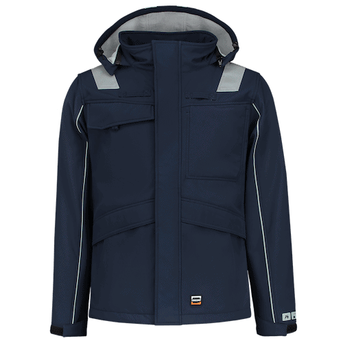 Tricorp Multinorm softshell jas - blauw