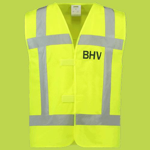 Tricorp RWS BHV veiligheidsvest - geel