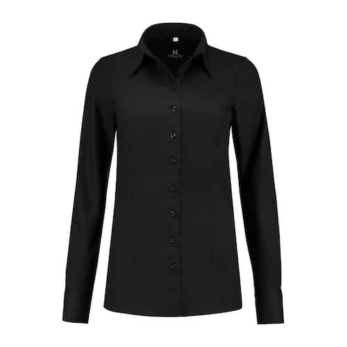 Le Nouveau Chef Jade horeca blouse - zwart