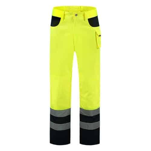 Tricorp ISO20471 Bicolor werkbroek - geel/blauw