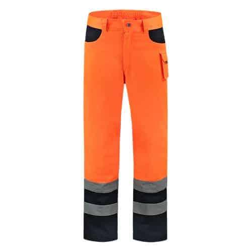 Tricorp ISO20471 Bicolor werkbroek - oranje/blauw