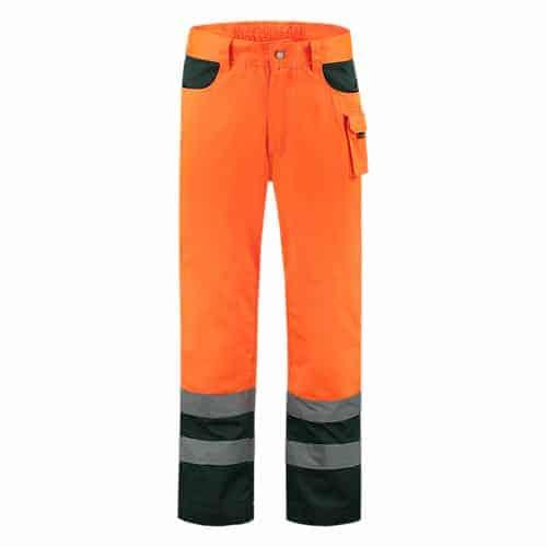 Tricorp ISO20471 Bicolor werkbroek - oranje/groen